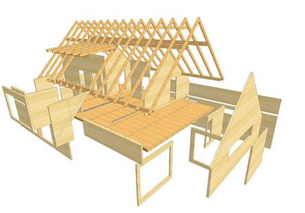 Costruzione case prefabbricate in legno a valdagno - Costruzione di una casa ...